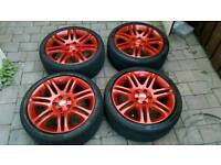 "18"" 5x112 BBS alloys with great tyres"