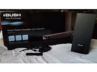 Bush Sound bar and subwoofer