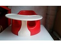 Bumbo seat and tray table