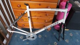 Specialized Sirrus expert Road Bike carbon Fork aluminium frame A1