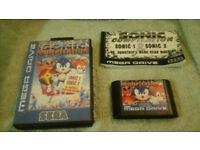 Sonic Compilation - Boxed & Manual - Mega Drive Game