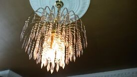 gorgeous 100% crystal chandelier