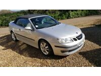 2007 SAAB 93 TTiD CABRIO VGC. LOW MILAGE 2 OWNERS FROM NEW. LOVELY CAR. FIRST TO SEE WILL BUY. for sale  Crediton, Devon