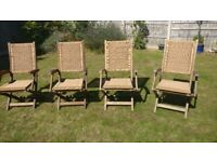 Wooden Outdoor Patio Chairs