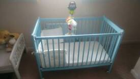 Cot and Changing Station