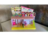 Shopkins dolls + houses + accessories