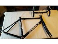 Ribble Full Carbon Frame and Forks with extras
