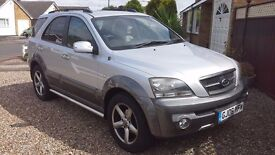 KIA SORENTO XT CRDI AUTO, 2006 4 × 4 ONLY 48000MLS GENUINE