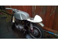 Honda CB72 classic cafe racer 249cc project or spares repairs