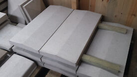 Double Coping Stones - Twice Weathered 600mm x 280mm