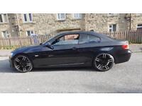 2009 BMW 335D M SPORT 2DR 320BHP FSH 12M MOT SWAP PX S3 WRX ST EVO M3 M5 RS ST RANGE RS5 PORSCHE
