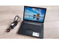 "SONY VAIO VGN-BZ11MN 15"" Screen Laptop / Core 2 DUO P8400 / 3GB Memory / 120GB Hard drive /"