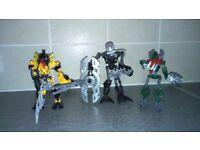 10 Bionicles