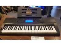 CASIO CTK-5000 KEYBOARD & STAND - COLLECTION ONLY.