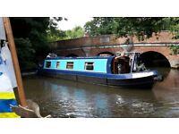 Narrowboat 42' new 38hp Beta marine engine
