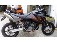 KTM 950 Supermoto. swap or px anything Considered.