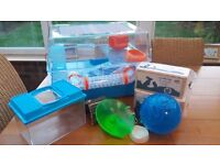 Hamster / Mouse Cage and Accessories For Sale