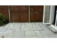 Unused Sandstone Patio Slabs