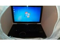 "Packard bell etna-gl laptop 15"" widescreen 320gb"