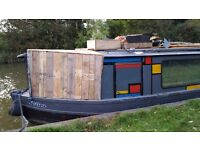 30 ft cruiser stern narrow boat