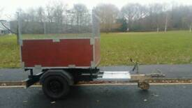 Caged trailer for sale