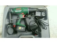 Bosch drill with battery