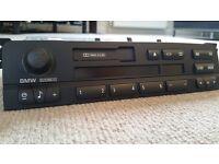 Genuine BMW 3 series E46 Business Radio and Tape Deck