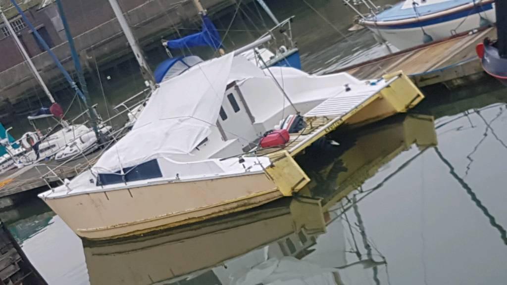 26ft catamaran