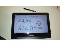 Laptop and Tablet Asus TP200SA (2 in 1) with office word