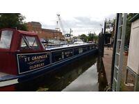 62 ft Narrow Boat 4 berth