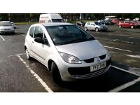 Great deal! Mitsubishi Colt 1.1 CZ1 3dr (a/c), Great condition, MOT May 17, Low mileage, New battery