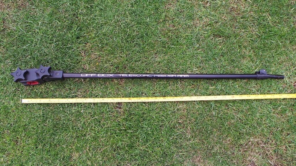 PRESTON INNOVATION Off Box Feeder Arm Extendable Telescopic Fishing Tackle Rod Restin Papworth Everard, CambridgeshireGumtree - PRESTON INNOVATION Off Box Feeder Arm Extendable Fishing Tackle Preston Innovations Off Box Feeder Arm Extendable in very good used condition. Please look at the photos and my other fishing items