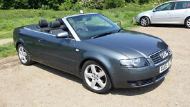 Audi A4 1.8t Convertible 2005 - low miles
