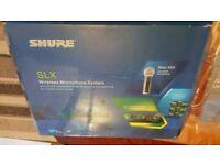 Shure slx wireless