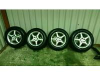 SET OF 15 INCH TSW ALLOYS 5X100 £60