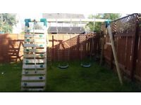 Plum Uakari Swing Set & Climbing Frame For Sale