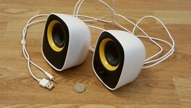 PC/Laptop Speakers (Philips; USB powered - no bulky adapter!)