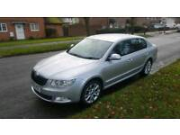 **SKODA SUPERB 1.9 SE TDI , LONG MOT, 4 NEW MATCHING TYRES **
