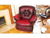 NICE RED ARMCHAIR FOR SALE