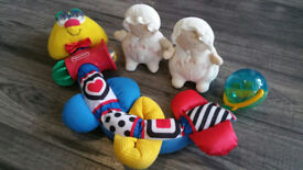 Kids Bundle of like NEW Toys - Fisher Price & Winnie the Pooh