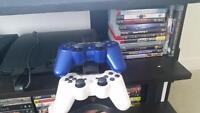 PS3, controllers and games