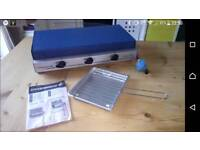 Campingaz camp chef double burner with grill