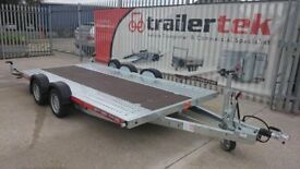 Brian James A4 car transporter trailer