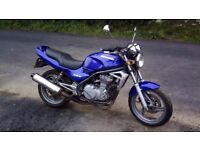 1999 Kawasaki er 500 comes with restriction kit for a2