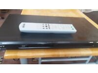 Sony DVD player with remote