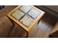 Stylish retro side table coffee table