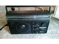 Radio's and cassette player