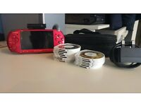 Sony PSP 3003 Job Lot (Console + Camera + Accessories + 15 Games