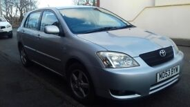 Toyota Corolla 1.6 VVT-i T3 5d | Very reliable | Good condition | 12 months MOT | 2 Owners