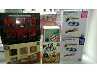 Various brain puzzles and games